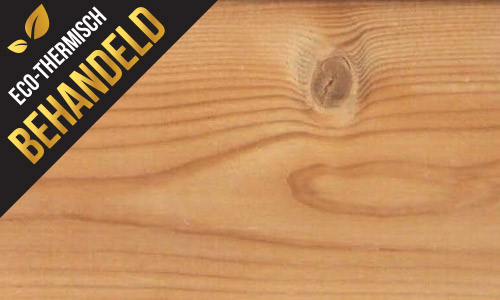 thermowood behandeld hout
