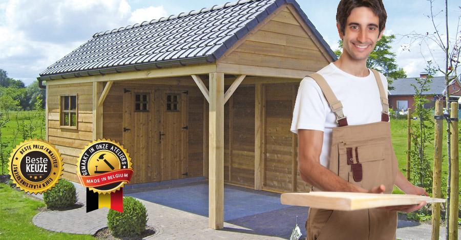 Tuinhuizen Te Koop : Hoogwaardige tuinhuizen nu ook te koop als zelfbouwpakket